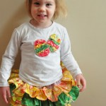 Super Cute DIY Easter Ruffle Outfit {tutorial}