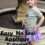 Simple and Easy NO SEW Applique Tutorial