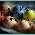No Mess Easter Egg Coloring {Really!}