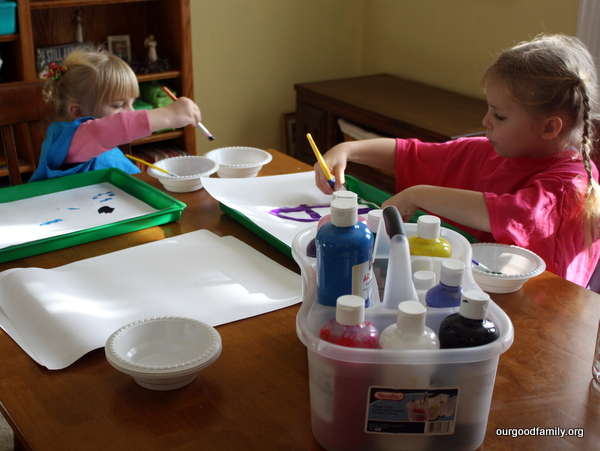 DIY Art Smocks