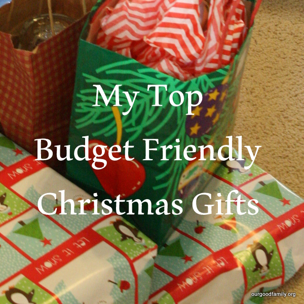 My Christmas Gifts: My Top Budget Friendly Christmas Gifts * Our Good Life