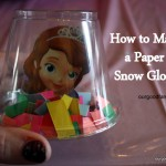 DIY Paper Snow Globe – No Snow or Water Needed!