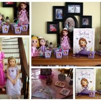 Sofia the First Party #DisneySide