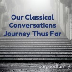 Our Classical Conversations Journey