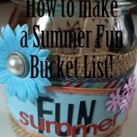 How to Make a Summer Bucket List