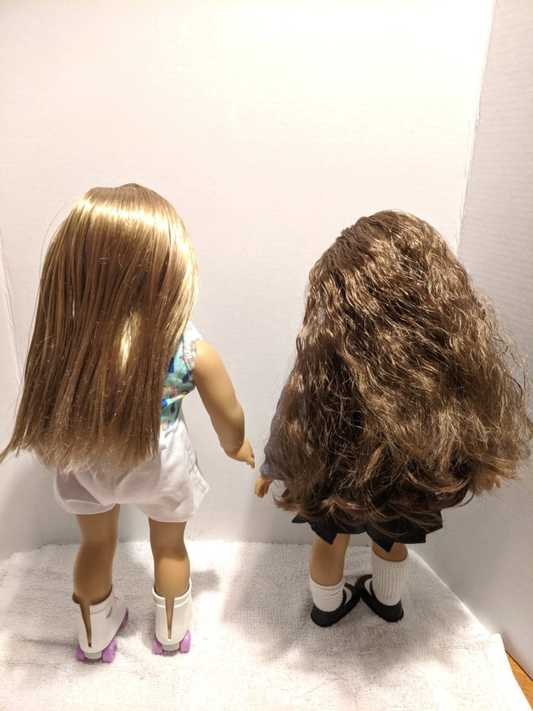 How To Untangle American Girl Doll Hair Our Good Life