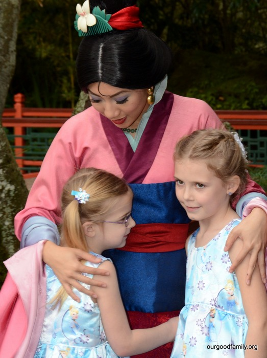 Where to find every princess in disney world resort our good life mulan m4hsunfo