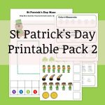 St Patrick's Printable Pack 2