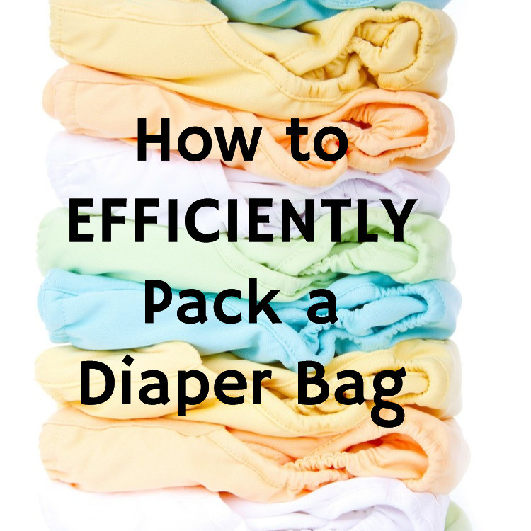 How to Efficently Pack a Diaper Bag