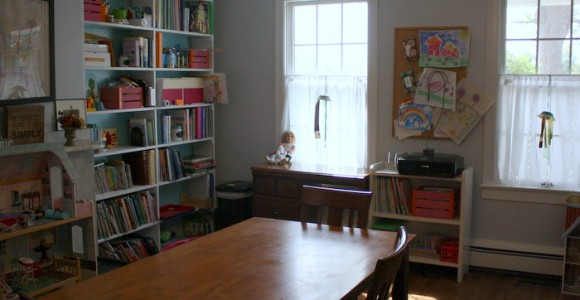 A Peek into our Homeschool Room