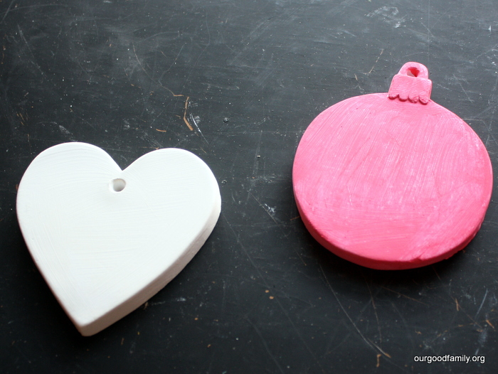 DIY Baby Footprint Ornaments from 31 Days of Christmas Crafts