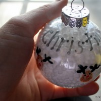 Reindeer Thumbprint Ornament from 31 Days of Christmas Crafts