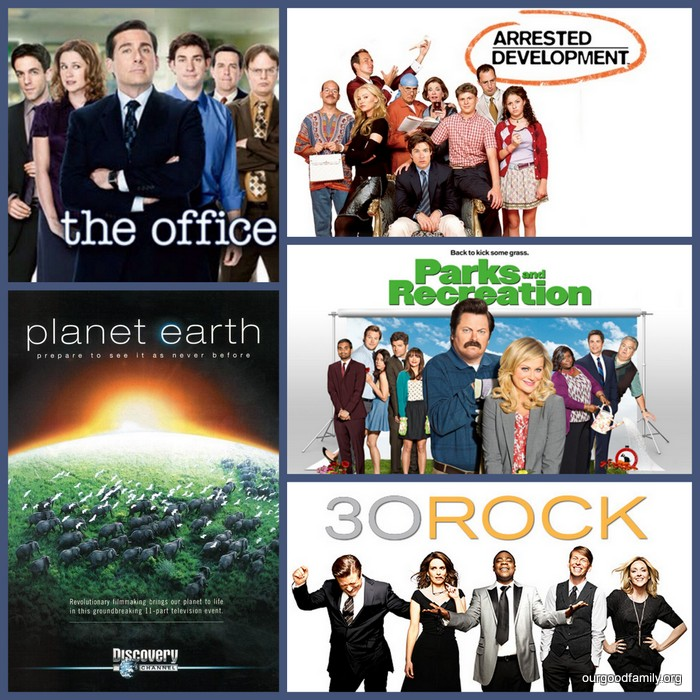 Top Netflix Picks The Office, Planet Earth, Arrested Development, 30 Rock, Parks and Recreation