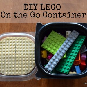 DIY LEGO On the Go Container