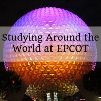 Studying Around the World at EPCOT