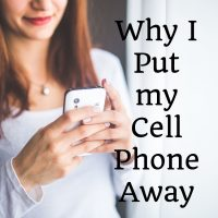 The Day I Put My Cell Phone Away