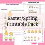 Easter/Spring Printable Pack