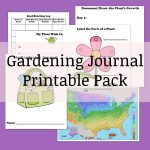 Printable Garden Journal Pack