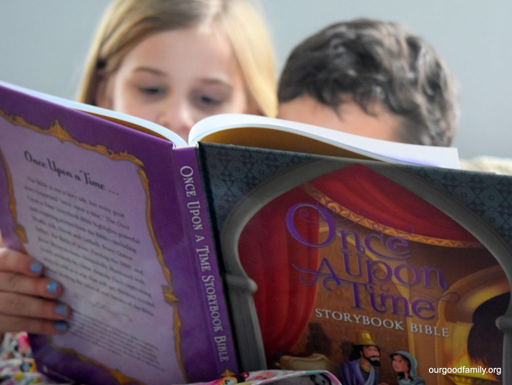 Once Upon a Time Storybook Bible and NIrV Edition