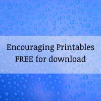 Encouraging Printable Free for Download