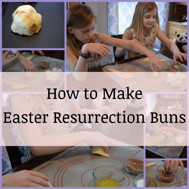 How to Make Easter Resurrection Buns