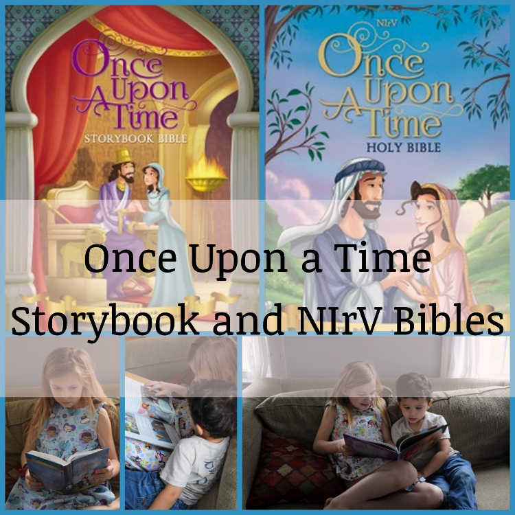Once Upon a Time Storybook and NIrV Bibles