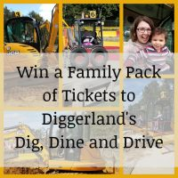 Diggerland Dig, Dine and Drive Ticket Giveaway