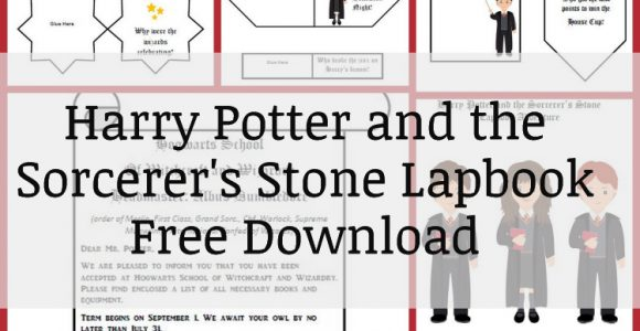 Harry Potter and the Sorcerer's Stone Lapbook Download