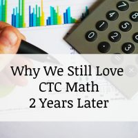 Why we still use CTC Math