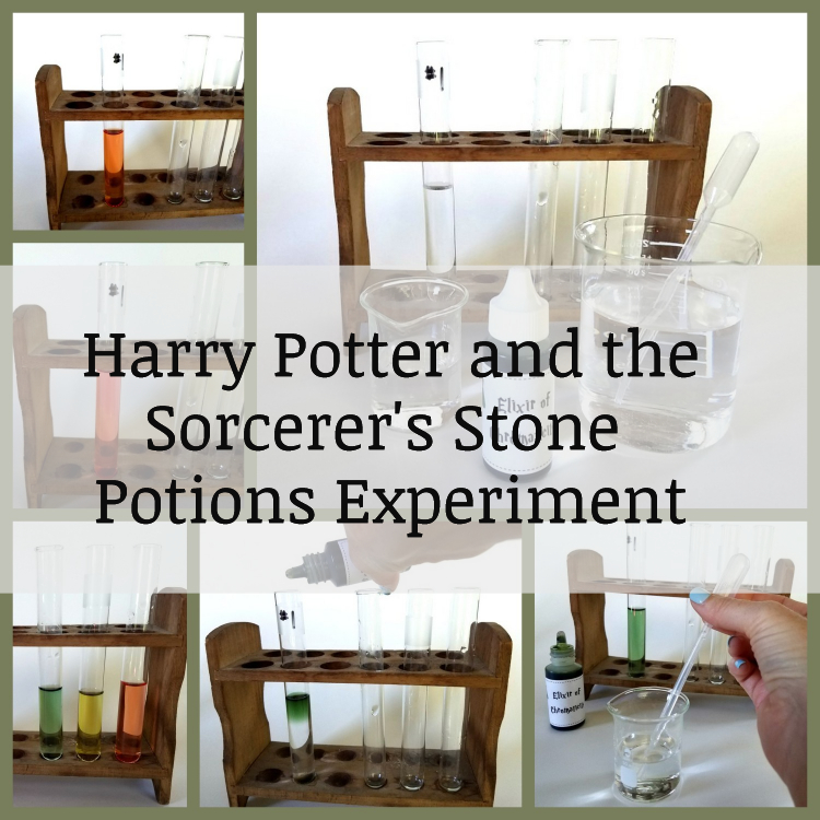 Harry Potter and the Sorcerer's Stone Potions Experiment(1)
