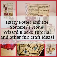 Harry Potter and the Sorcerer's Stone Wizard Blocks