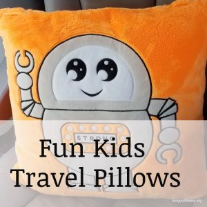 Fun Kids Travel Pillow