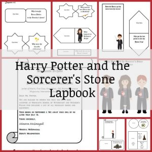 Harry Potter and the Sorcerer's Stone Lapbook