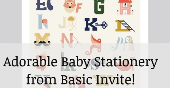 Baby Stationery from Basic Invite