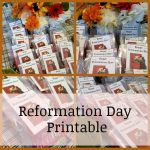 Reformation Day Printable
